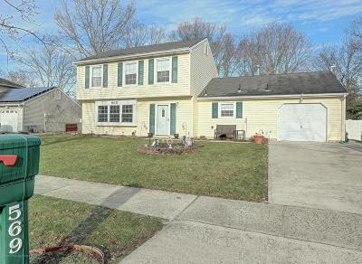 Toms River Single Family Home For Sale: 569 Leawood Avenue