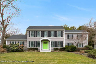 Sea Girt Single Family Home Under Contract: 2155 Gregory Place