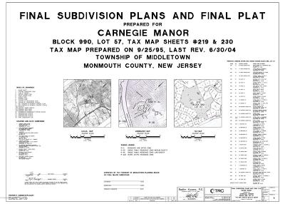 Middletown Residential Lots & Land For Sale: 911 Middletown Lincroft Road #R