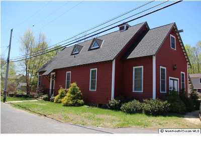 Atlantic Highlands, Highlands Single Family Home For Sale: 2 Hall Street