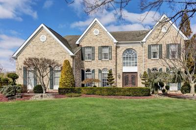 Freehold Single Family Home Under Contract: 60 Round Hill Drive