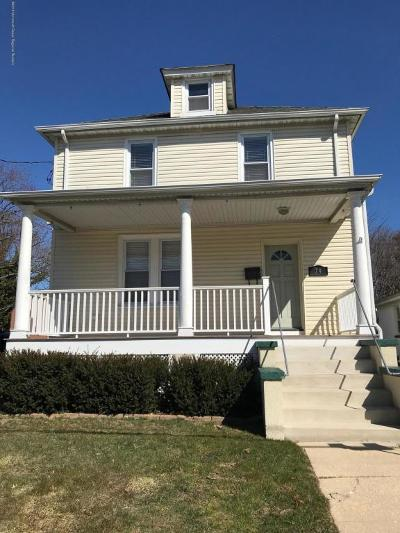 Long Branch Single Family Home For Sale: 79 Morrell Street