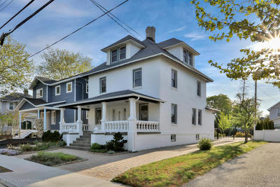 Bradley Beach Single Family Home For Sale: 705 Madison Avenue