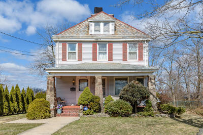 Long Branch Single Family Home For Sale: 659 McClellan Street