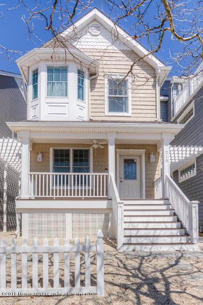 Seaside Heights Single Family Home For Sale: 218 Grant Avenue