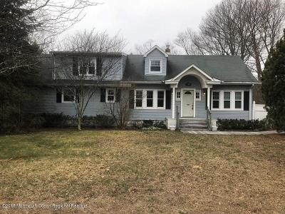 Monmouth County Single Family Home For Sale: 114 Colts Neck Road