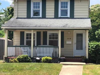 Point Pleasant Single Family Home Under Contract: 319 Osborn Avenue