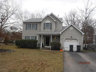 Ocean County Single Family Home For Sale: 1828 Breakers Drive