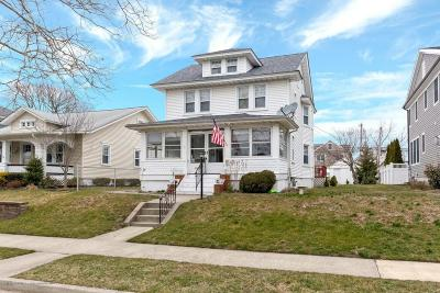Avon-by-the-sea, Belmar, Bradley Beach, Brielle, Manasquan, Spring Lake, Spring Lake Heights Single Family Home For Sale: 410 Washington Avenue