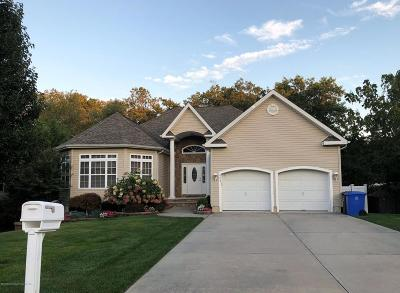 Ocean County Single Family Home For Sale: 929 Sandy Circle