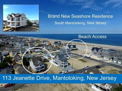 Ocean County Single Family Home For Sale: 113 Jeanette Drive