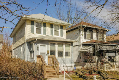 Asbury Park Single Family Home Under Contract: 1027 1st Avenue
