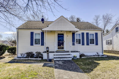 Hazlet Single Family Home For Sale: 6 Hudson Avenue