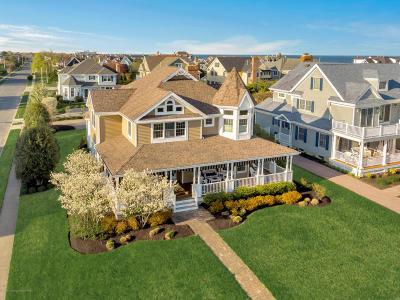 Spring Lake Single Family Home For Sale: 14 Mercer Avenue