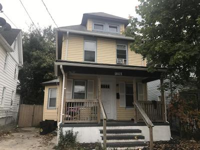 Asbury Park Single Family Home For Sale: 1206.5 Monroe Avenue