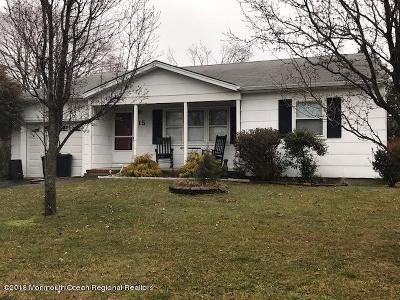 Toms River Adult Community Under Contract: 15 Carlisle Road