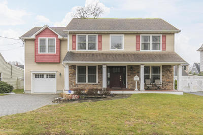 Avon-by-the-sea, Belmar, Bradley Beach, Brielle, Manasquan, Spring Lake, Spring Lake Heights Single Family Home For Sale: 807 Wall Road