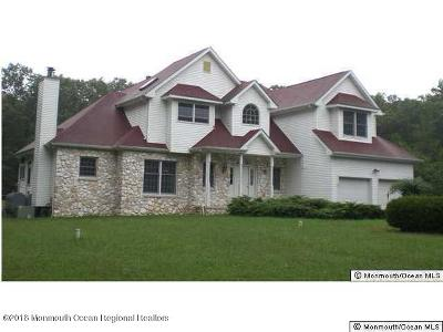 Howell Single Family Home For Sale: 599 Casino Drive