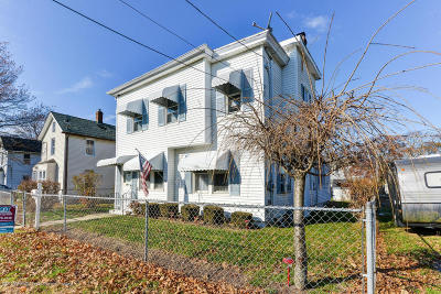 Long Branch Single Family Home For Sale: 399 Park Place