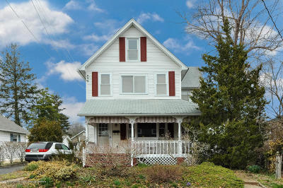 Wall Single Family Home Under Contract: 920 Curtis Avenue