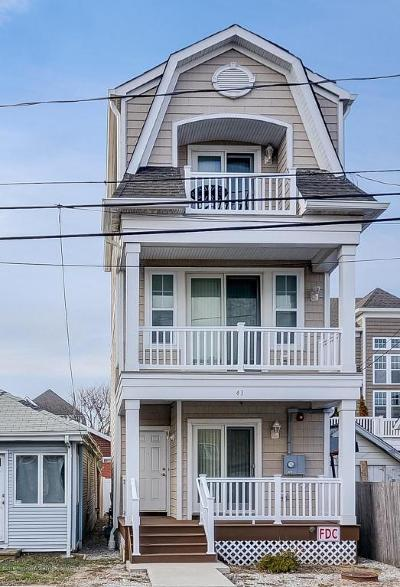 Long Branch Single Family Home For Sale: 43 Marine Terrace