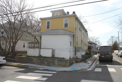 Asbury Park Multi Family Home For Sale: 413 Ridge Avenue