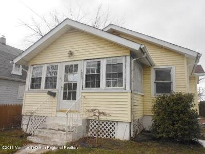 Neptune Township Single Family Home Under Contract: 1503 10th Avenue