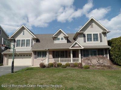 Sea Girt Single Family Home For Sale: 311 Washington Boulevard