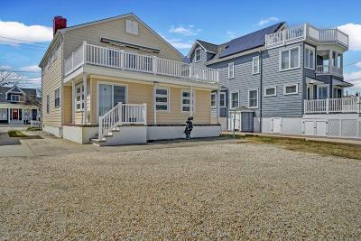 Avon-by-the-sea, Belmar, Bradley Beach, Brielle, Manasquan, Spring Lake, Spring Lake Heights Single Family Home For Sale: 86 Ocean Avenue