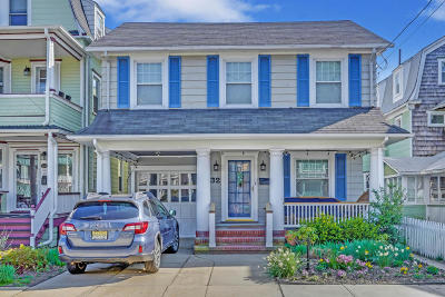 Ocean Grove Single Family Home For Sale: 32 Pitman Avenue