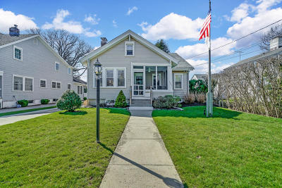 Spring Lake Single Family Home Under Contract: 1407 4th Avenue