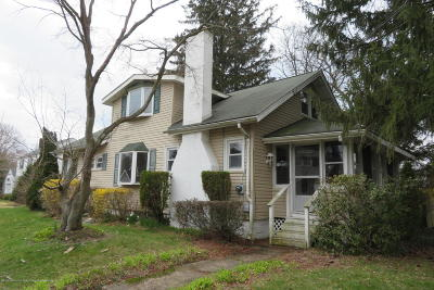 Neptune Township Single Family Home Under Contract: 400 Tilton Place