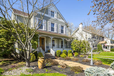 Red Bank Single Family Home For Sale: 22 E Bergen Place