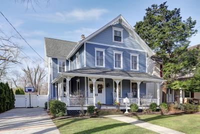 Monmouth County Single Family Home Under Contract: 41 Morris Avenue