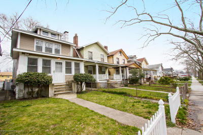 Asbury Park Single Family Home For Sale: 1017 3rd Avenue
