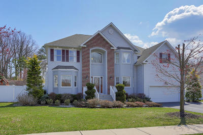 Hazlet Single Family Home Under Contract: 15 Meredith Way
