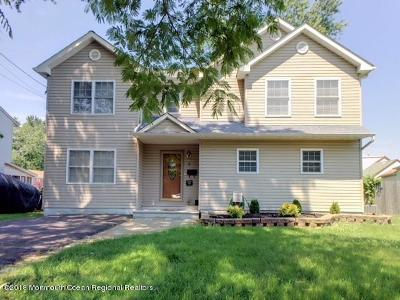 Hazlet Single Family Home For Sale: 8 Maple Drive