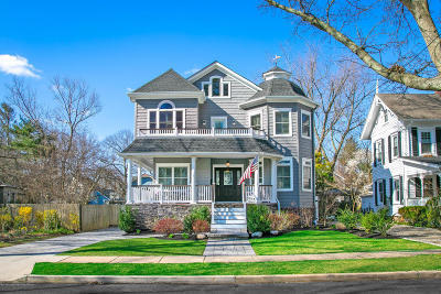 Avon-by-the-sea, Belmar, Bradley Beach, Brielle, Manasquan, Spring Lake, Spring Lake Heights Single Family Home For Sale: 23 Marcellus Avenue