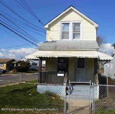 Neptune City Single Family Home For Sale: 201 Fisher Avenue