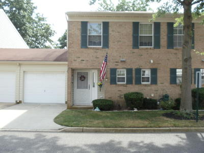 Spring Lake Condo/Townhouse For Sale: 46 Apple Drive #46