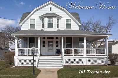 Point Pleasant Single Family Home For Sale: 105 Trenton Avenue