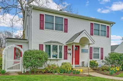 Avon-by-the-sea, Belmar, Bradley Beach, Brielle, Manasquan, Spring Lake, Spring Lake Heights Single Family Home For Sale: 905 Woodcrest Drive