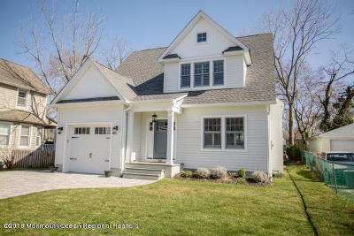 Spring Lake Single Family Home For Sale: 801 Wall Road