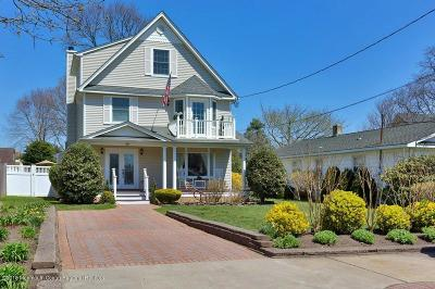 Brielle Single Family Home For Sale: 504 Woodland Avenue