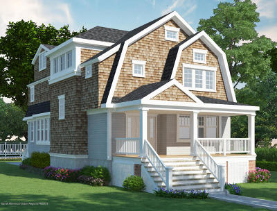 Avon-by-the-sea, Belmar Single Family Home For Sale: 315 Norwood Avenue