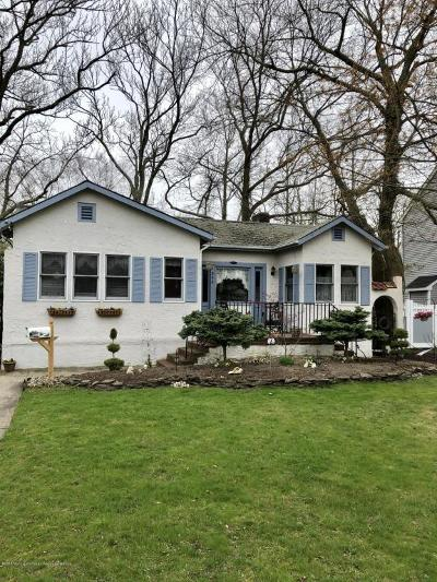 Monmouth County Single Family Home Under Contract: 396 Redmond Avenue