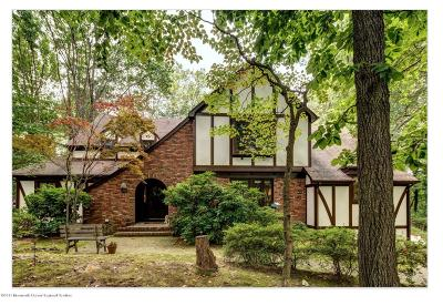 Holmdel Single Family Home For Sale: 4 E Brook Drive