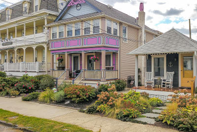 Ocean Grove Single Family Home For Sale: 22 Heck Avenue