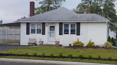 Point Pleasant Single Family Home For Sale: 1901 Riviera Parkway
