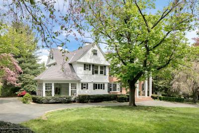 Rumson Single Family Home For Sale: 8 Elm Lane
